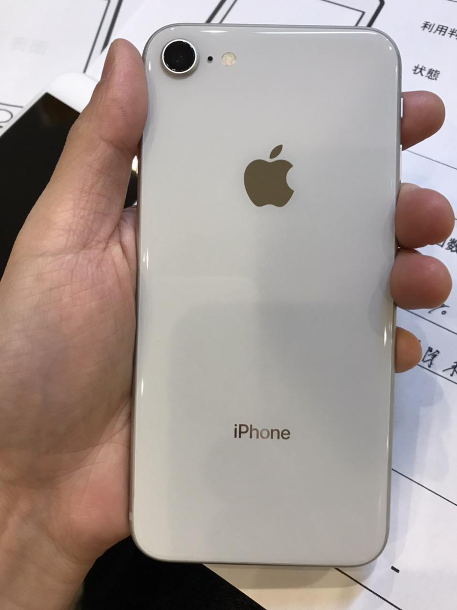 iPhone8 256GB シルバー SoftBank○ ジャンク品