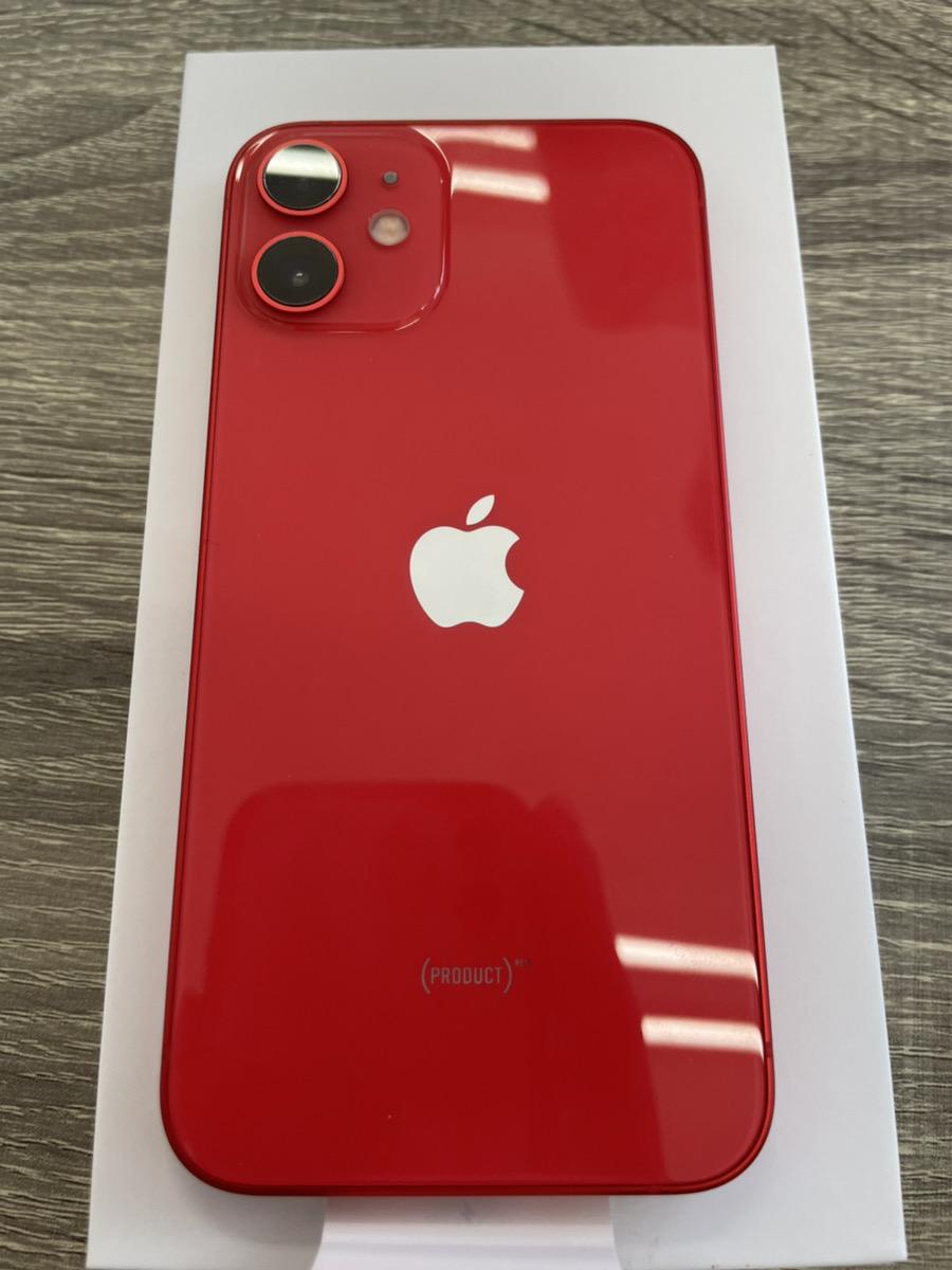 iPhone 12mini 64GB レッド