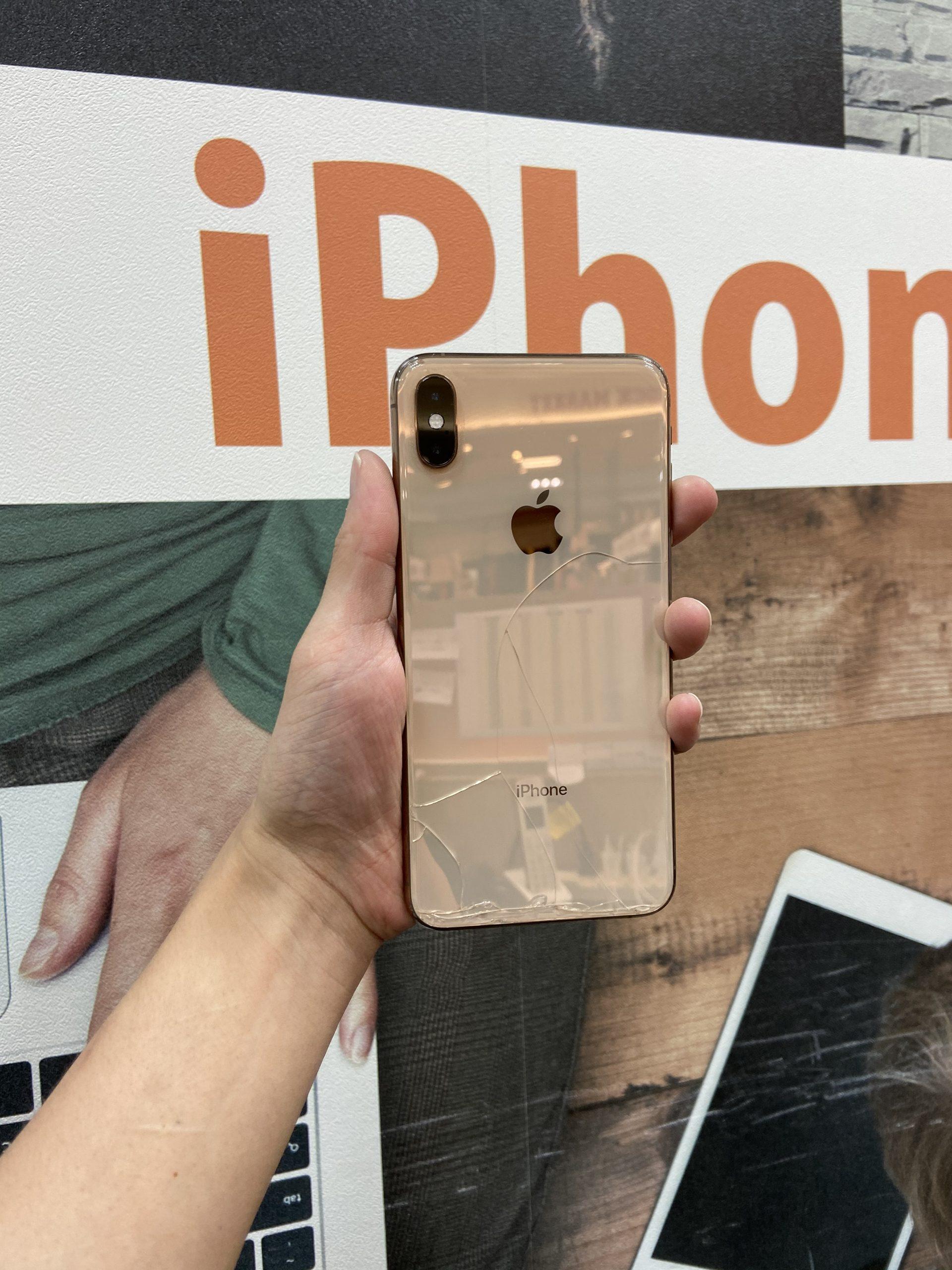 iPhoneXsMax 256GB au○ ゴールド SIMロック未解除