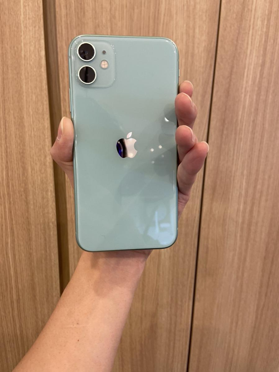 iPhone11 64GBグリーンSoftbank △中古
