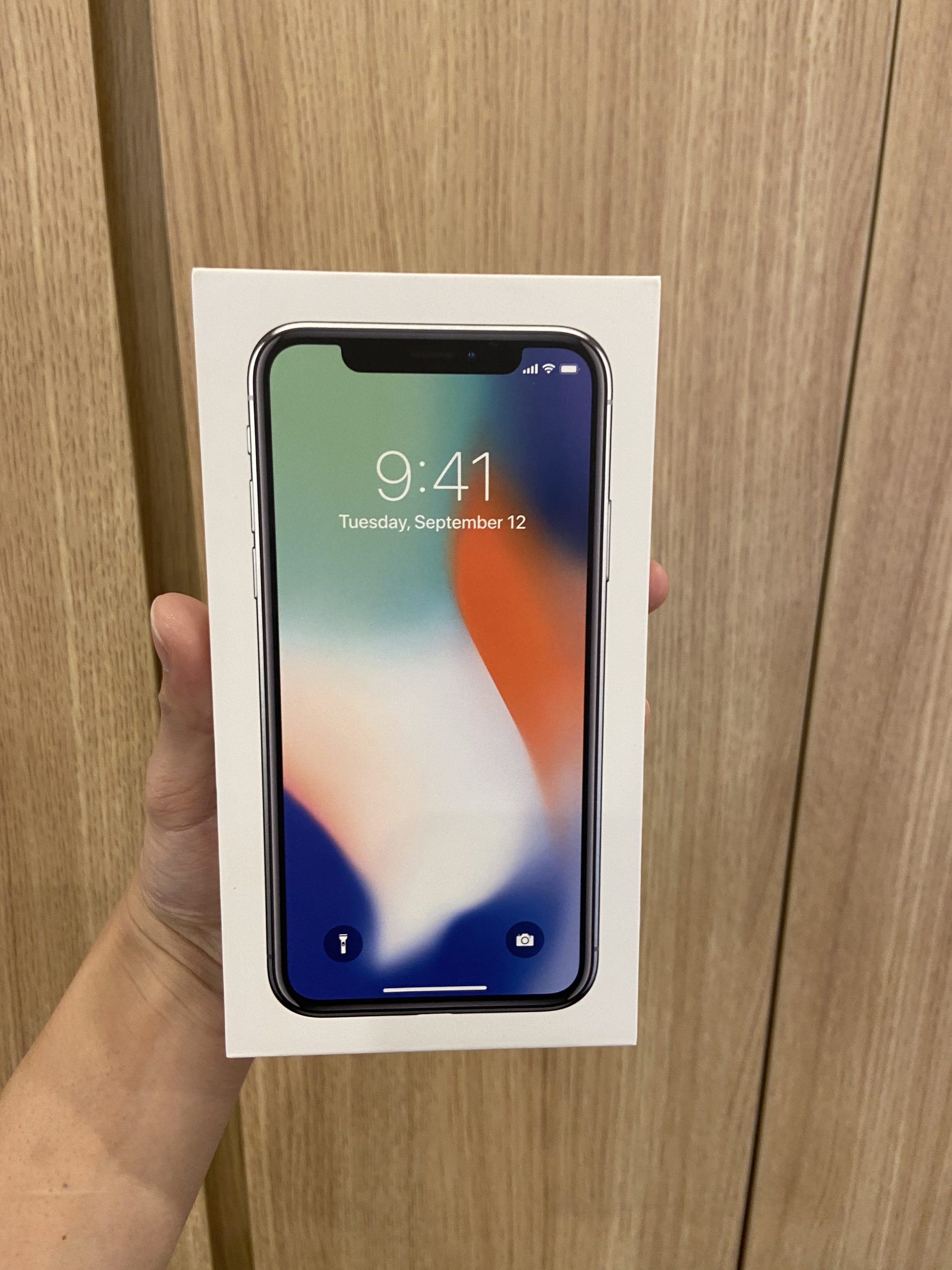 iPhoneX 256GB シルバーDocomo 〇中古
