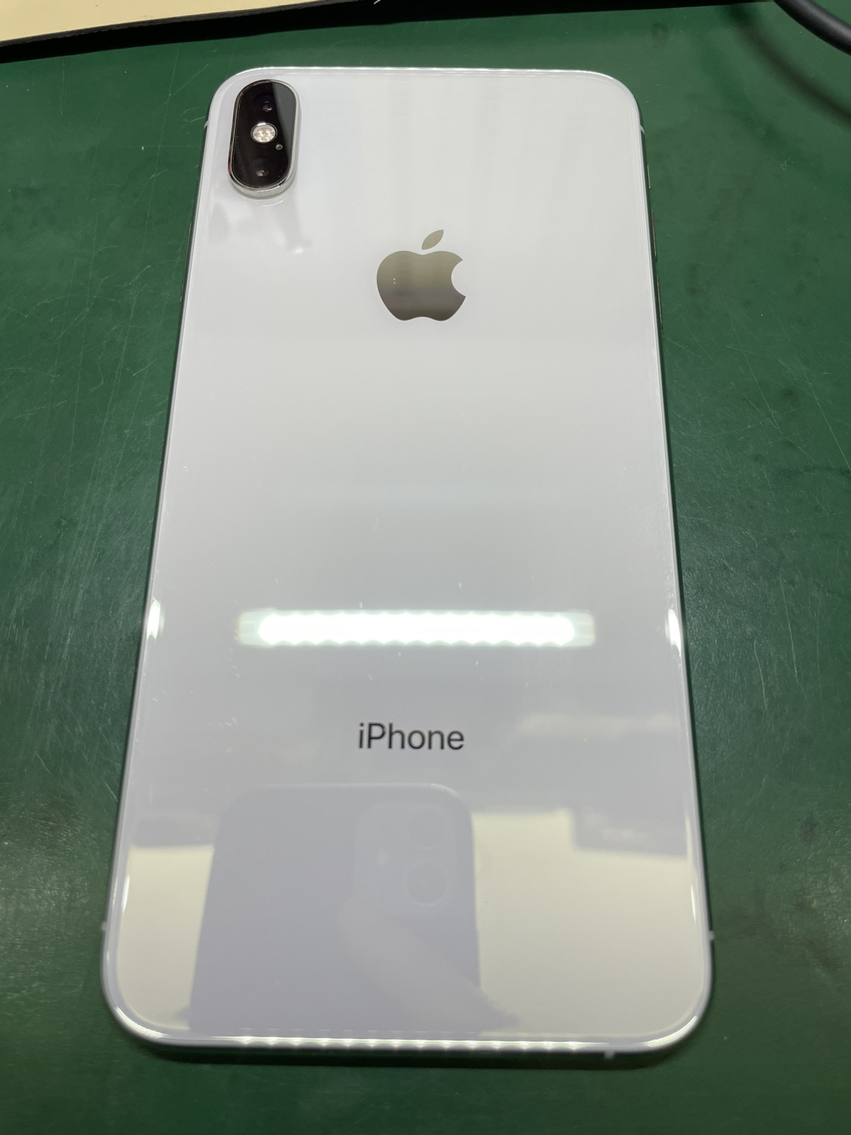iPhone XS Max 256GB シルバー SIMフリー 中古