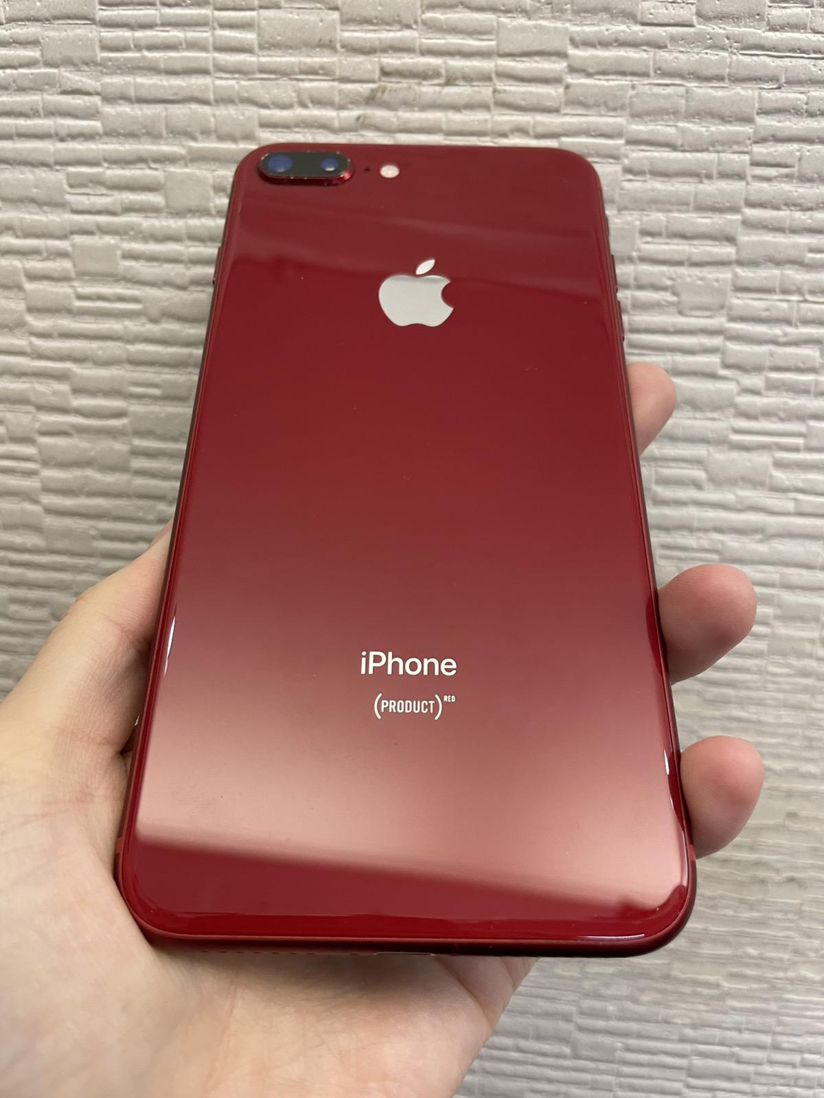 iPhone 8 Plus 64GB レッド ドコモ○ 中古