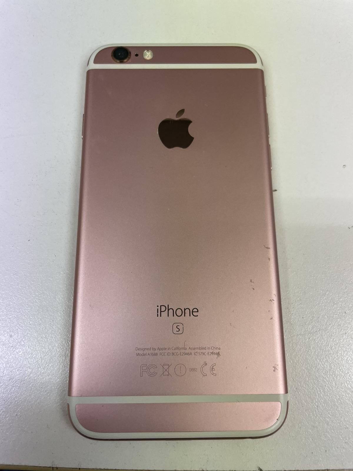 iPhone 6s 64GB ローズ SoftBank〇 中古