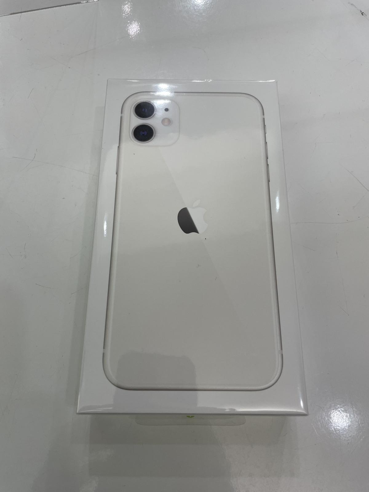 iPhone 11 64GB ホワイト ワイモバイル○ 未開封