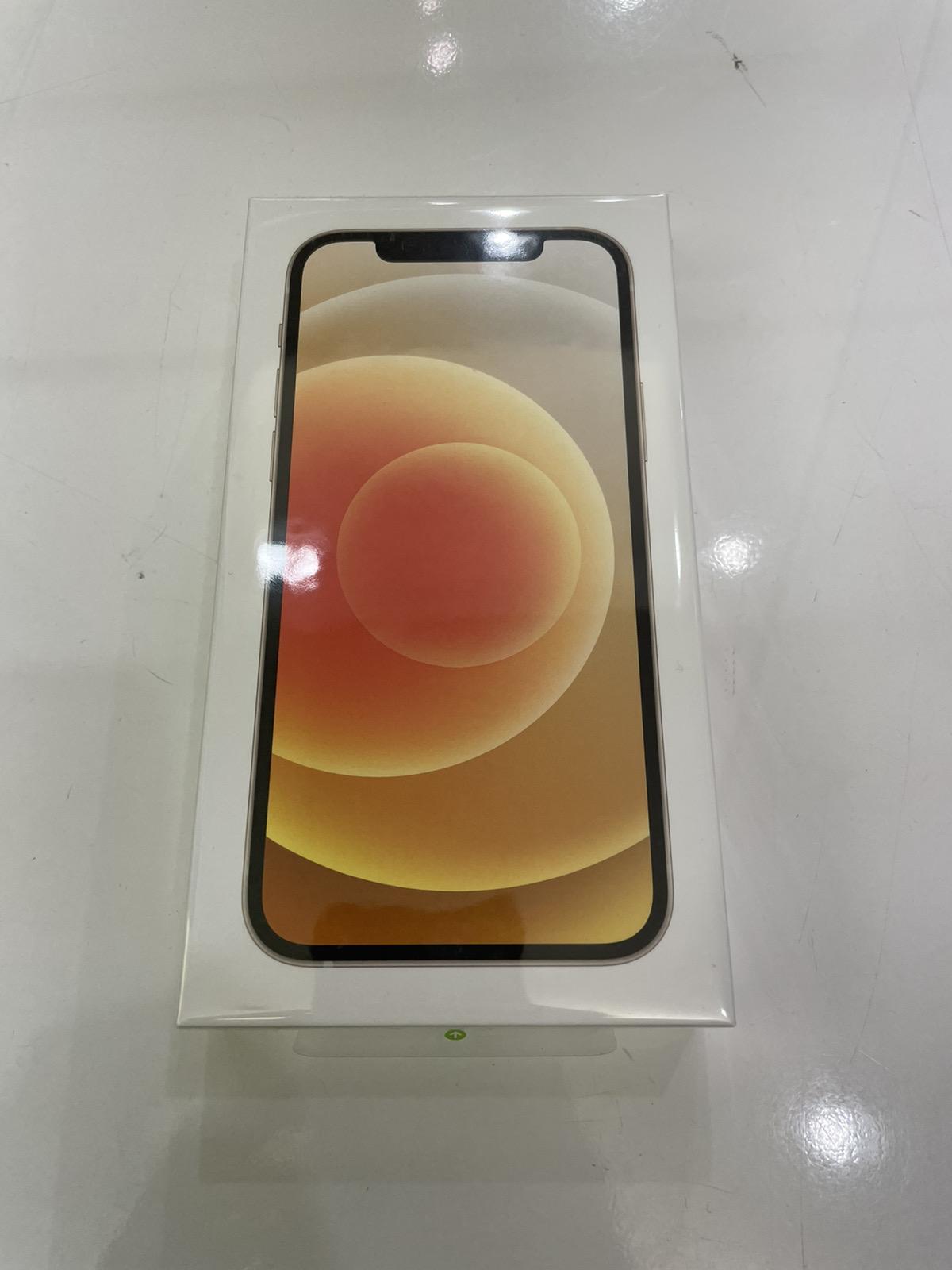 iPhone 12 256GB ホワイト ワイモバイル△ 未開封