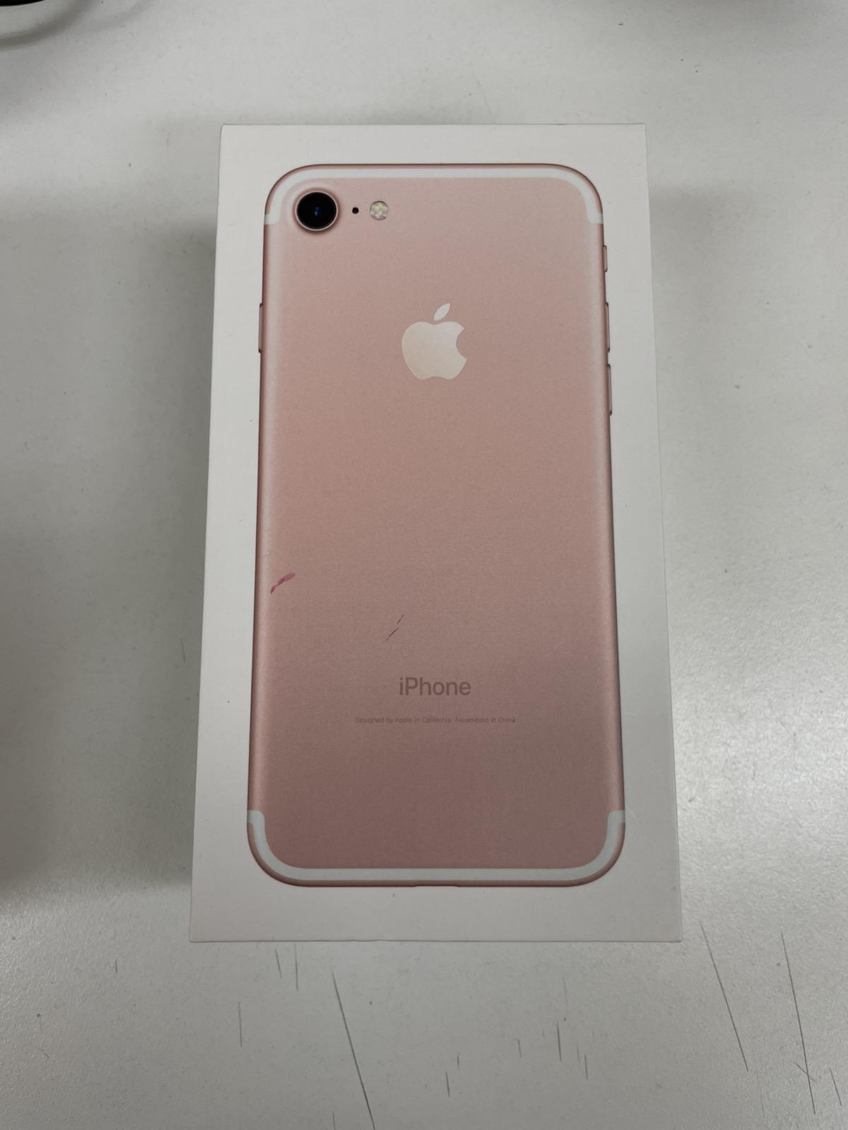 iPhone 7 128GB ローズゴールド SIMフリー 中古