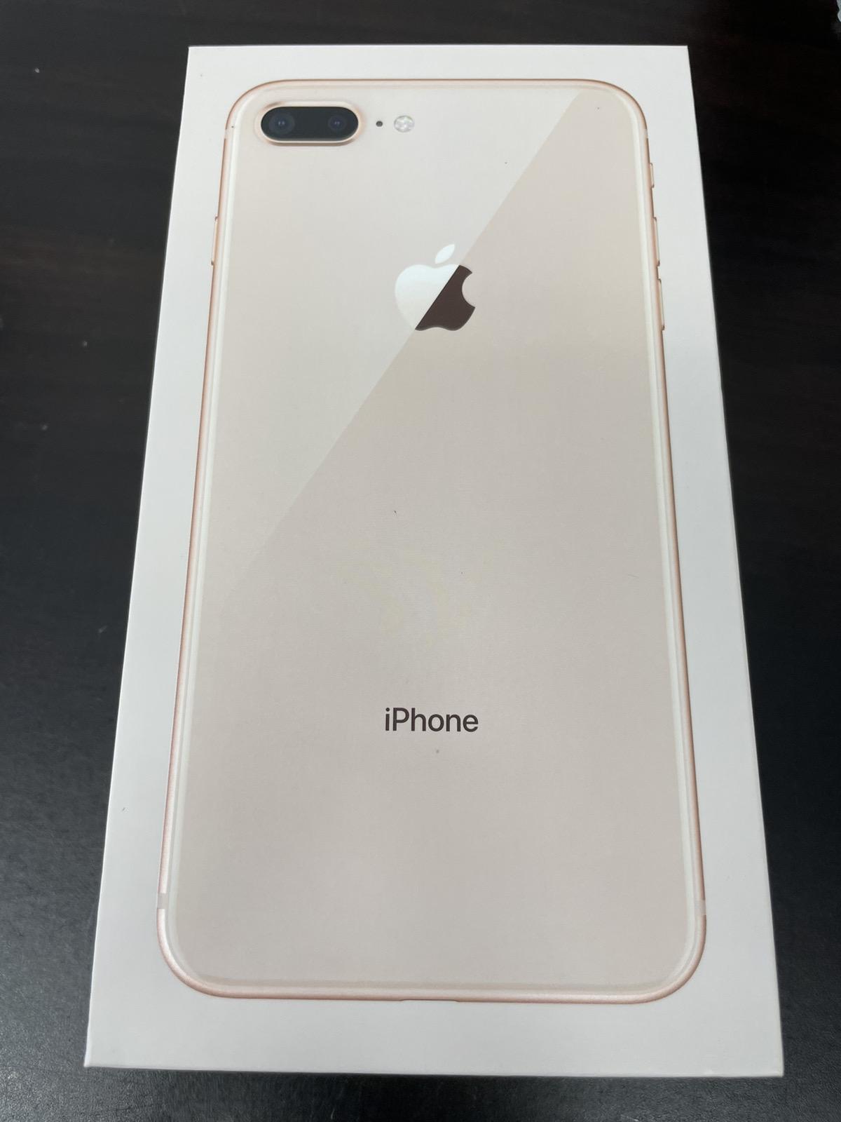 iPhone 8 Plus 256GB ゴールド SIMフリー 中古
