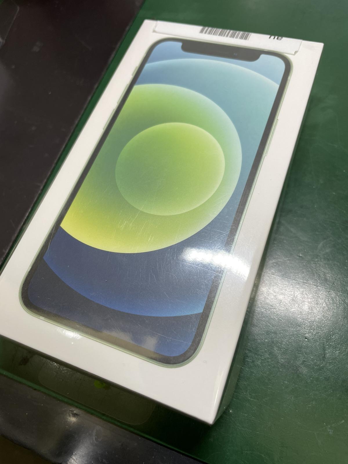 IPhone12mini グリーン 64GB au○ 新品未使用品