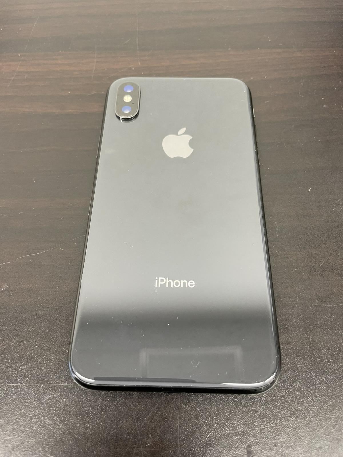 iPhone X 256GB スペースグレイ ドコモ○ 中古