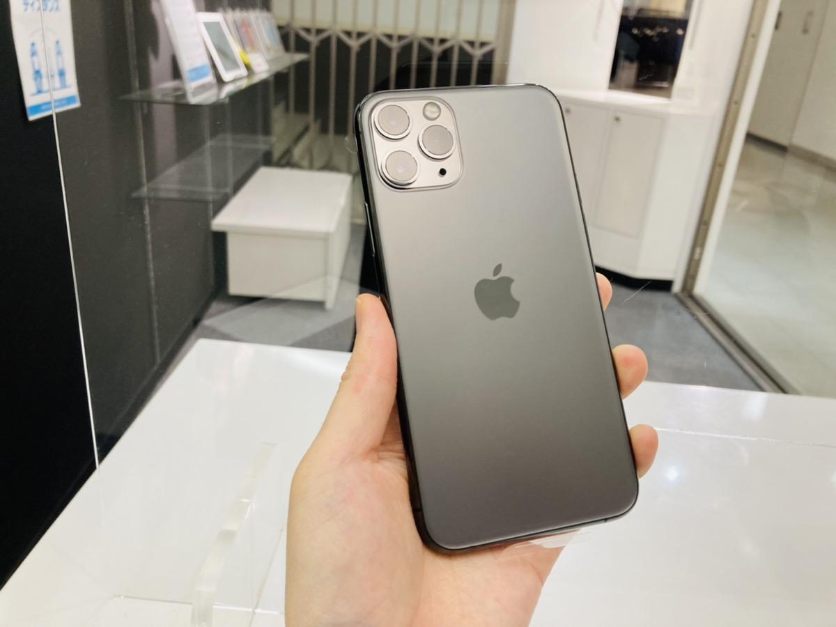 iPhone11Pro 64GB グレー SoftBank◯ 中古本体のみ