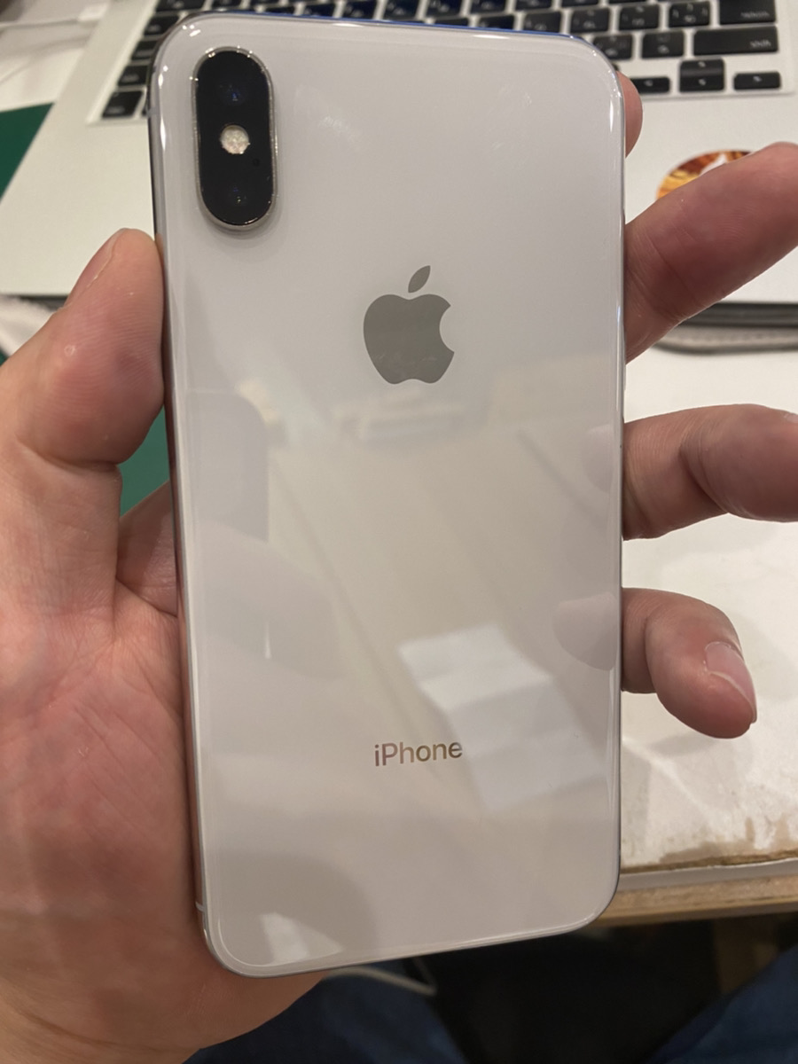 iPhoneX 256GB  SIMフリー シルバー 中古品