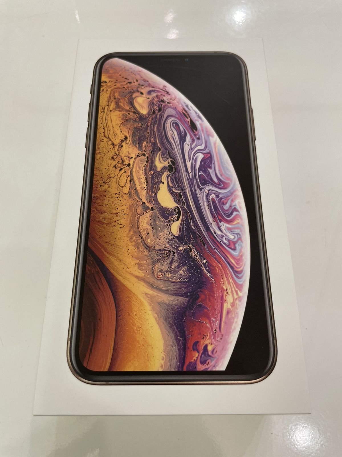 iPhone XS 256GB ゴールド SIMフリー 中古美品