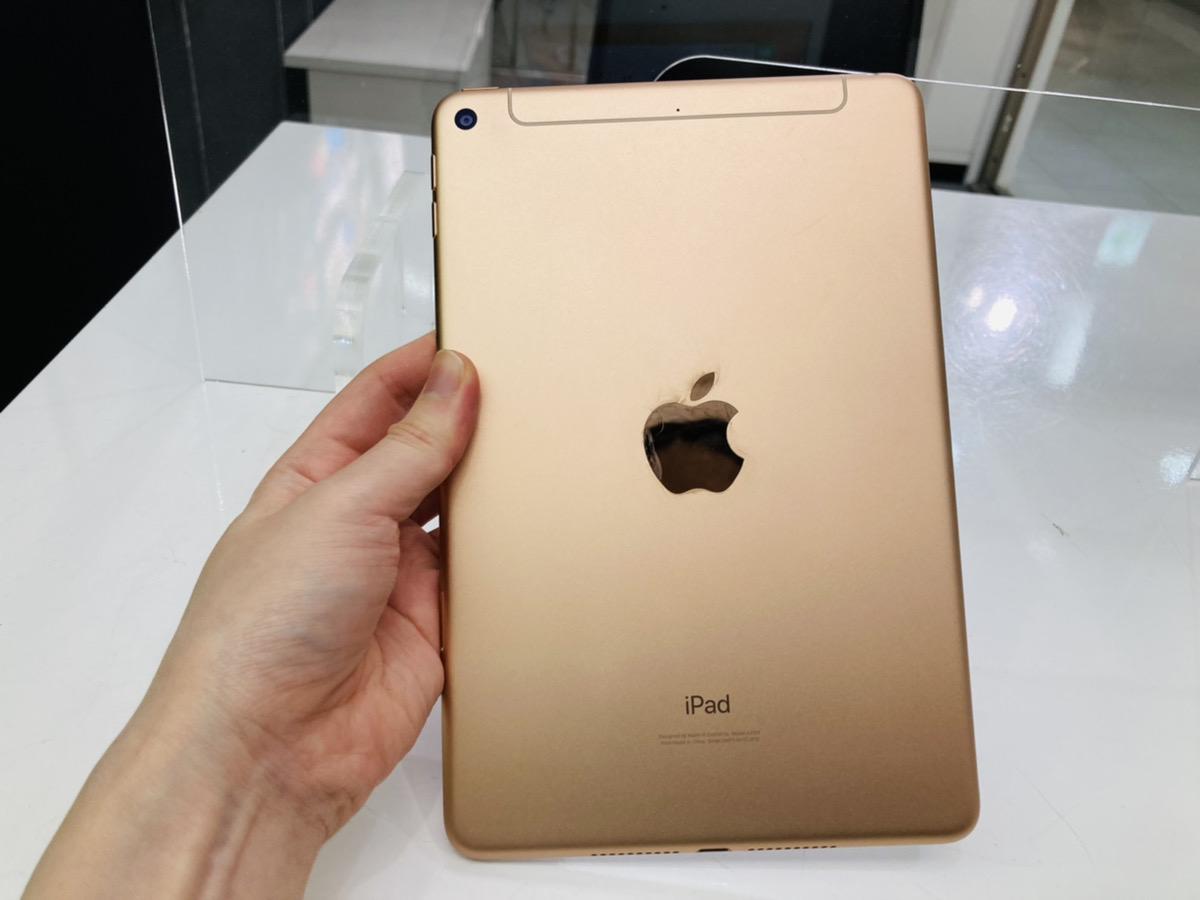 iPad mini5 64GB ゴールド au◯ 中古本体のみ
