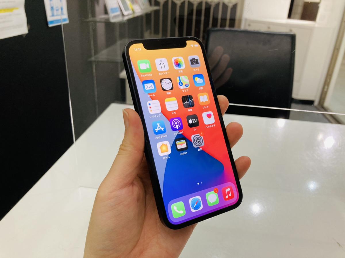 iPhone12mini 64GB ブラック au△ 中古本体のみ