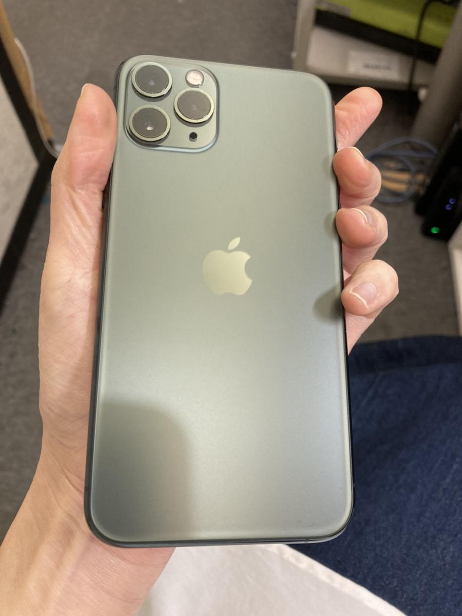 iPhone11pro 256GB グリーン au△ 中古