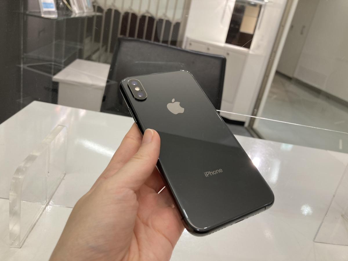 iPhoneX 64GB ブラック au◯ 中古本体のみ
