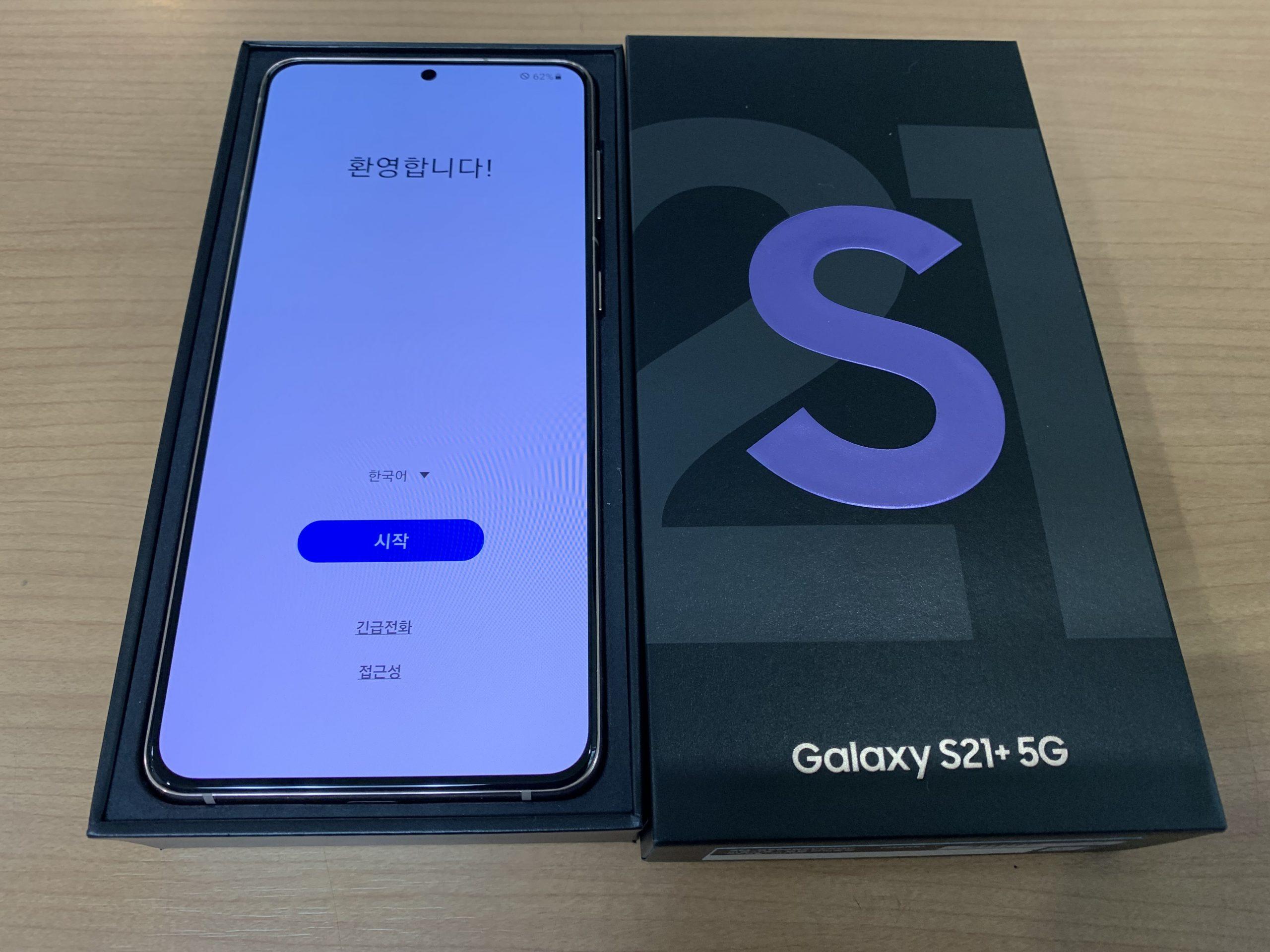 Galaxy S21+ Plus 5G     SM-G996N 256GB 中古