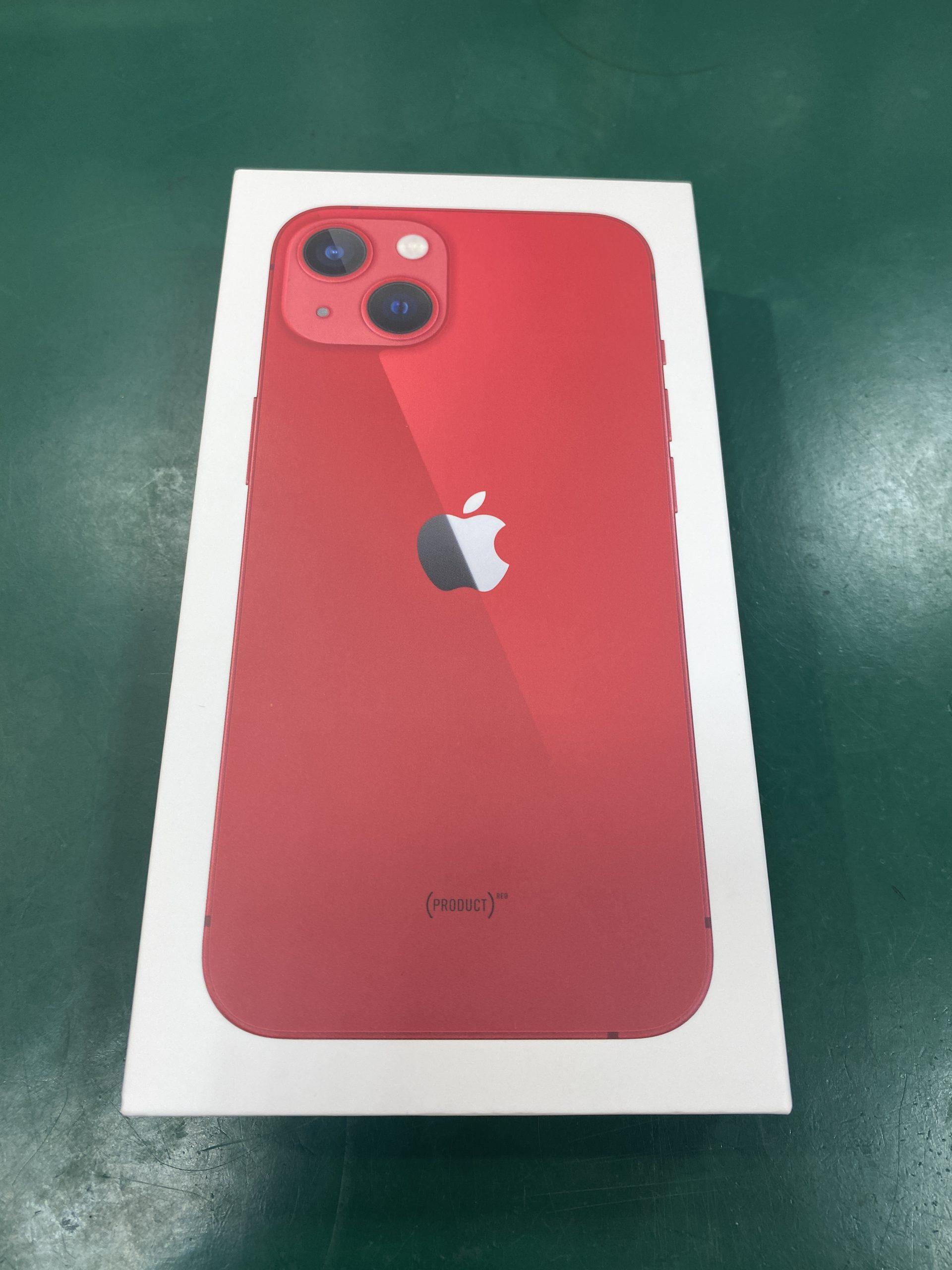 iPhone13128GB レッド SIMフリー 未開封