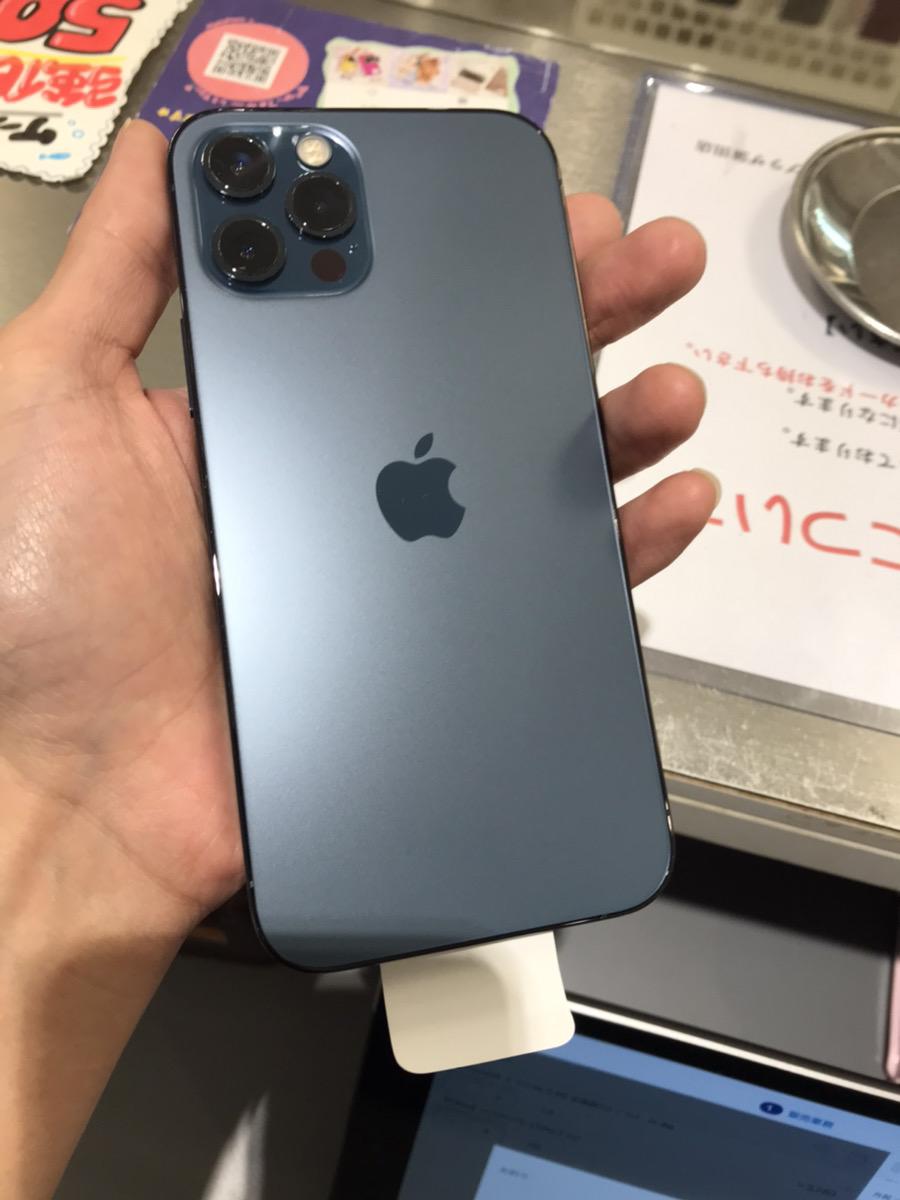iPhone12Pro 256GB ブルー au△ 中古