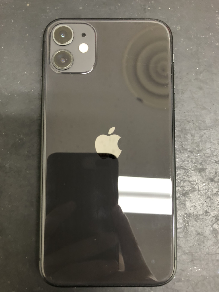 iPhone11 256GB ブラック docomo ○ 起動不可ジャンク