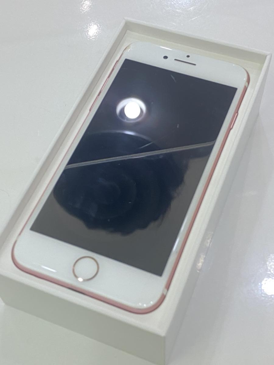 iPhone732GBローズゴールドSoftbank〇中古