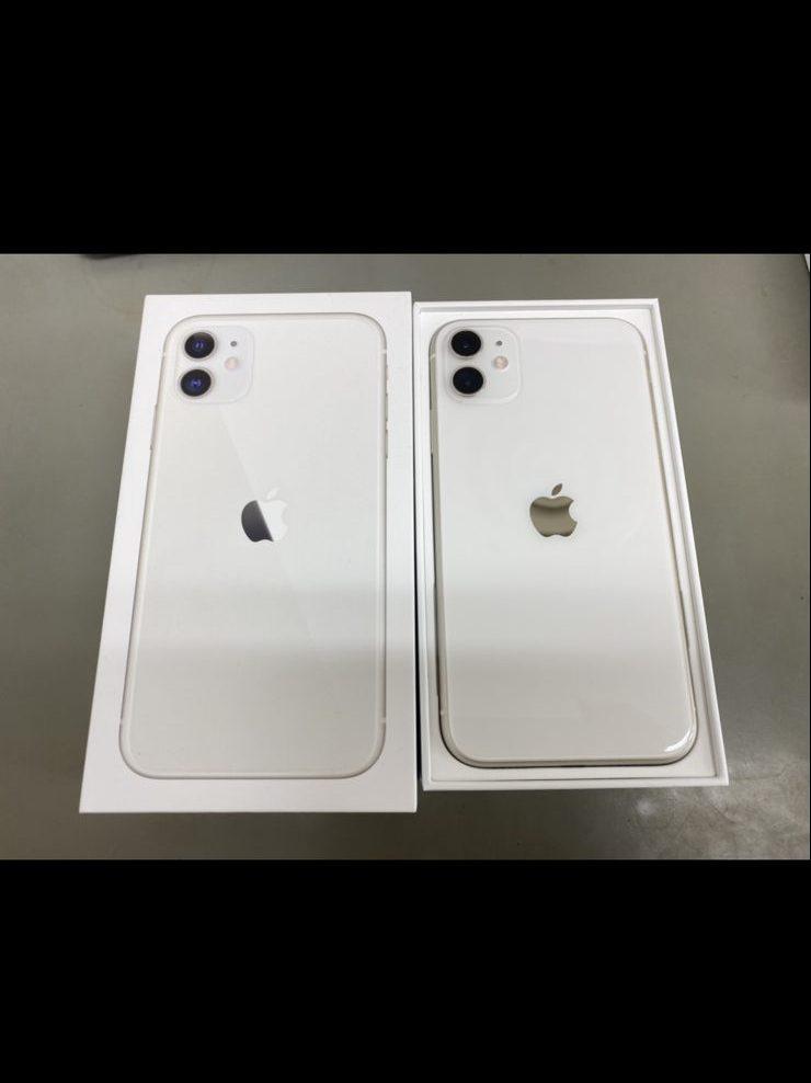 iPhone11 64GB ホワイト Docomo〇 中古