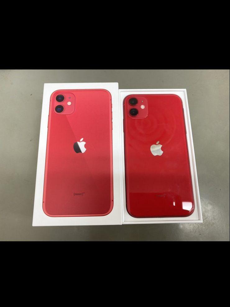 iPhone11 64GB レッド Docomo〇 中古