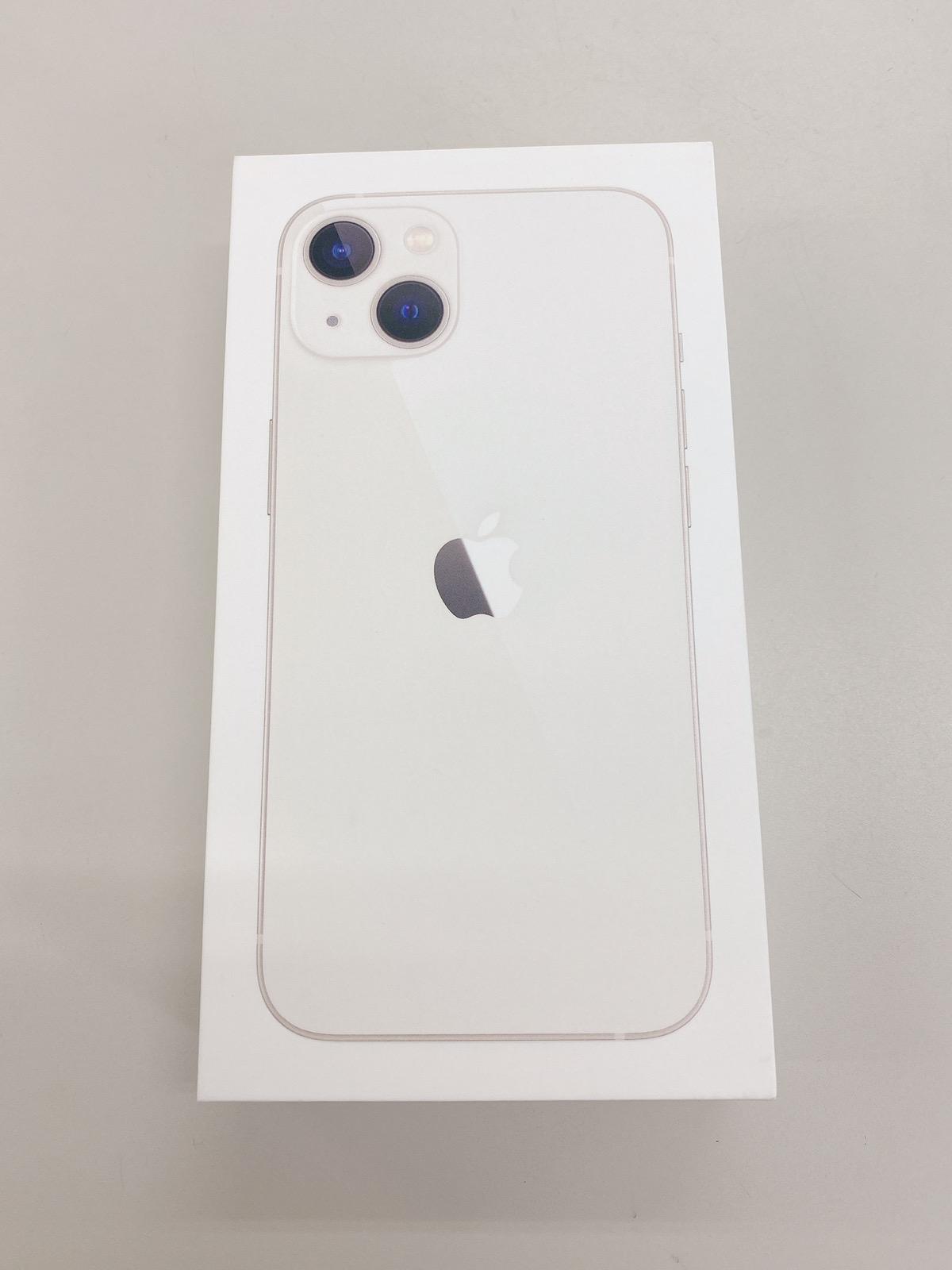 iPhone13 512GB ホワイト SIMフリー 新品未開封