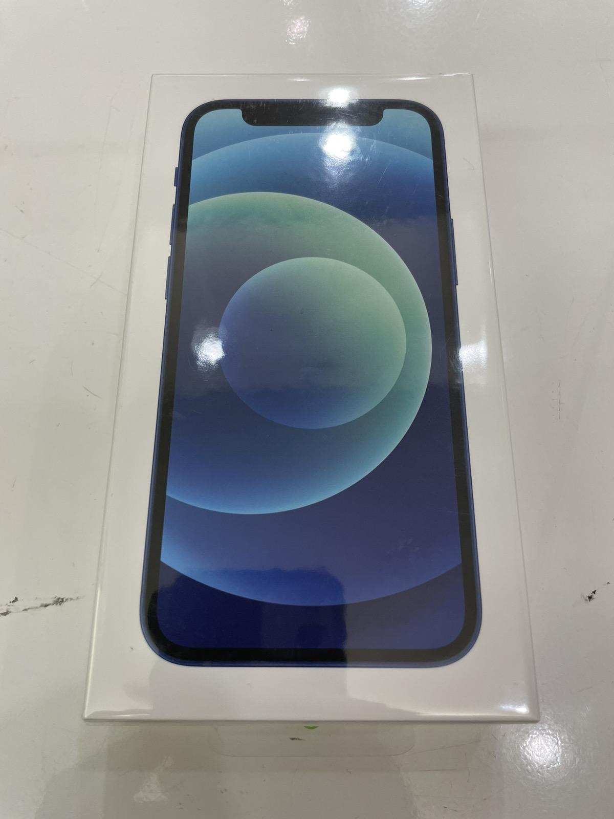 iPhone 12 mini 64GB ブルー au○ 未開封