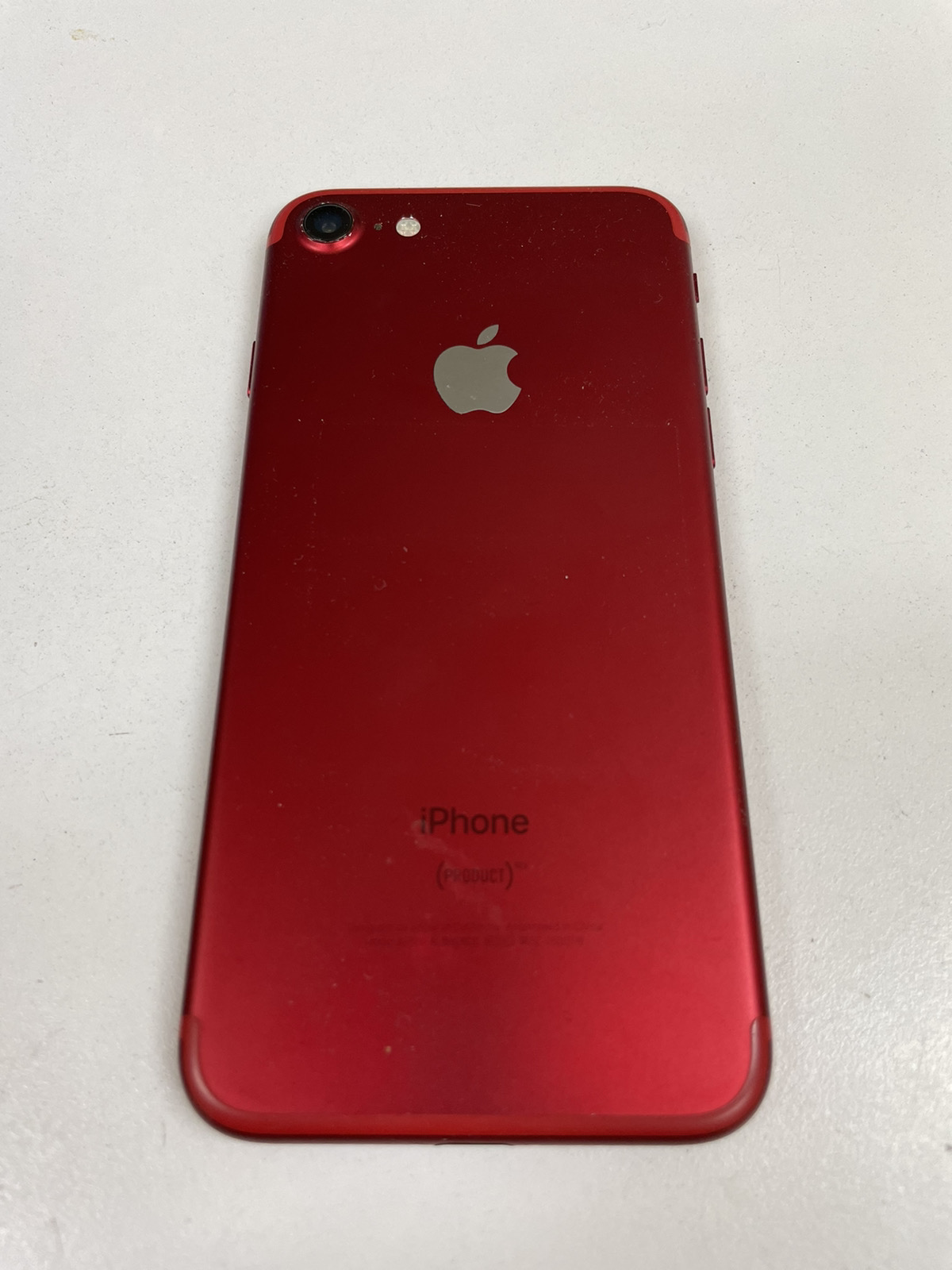 iPhone 7 128GB レッド SIMフリー 中古