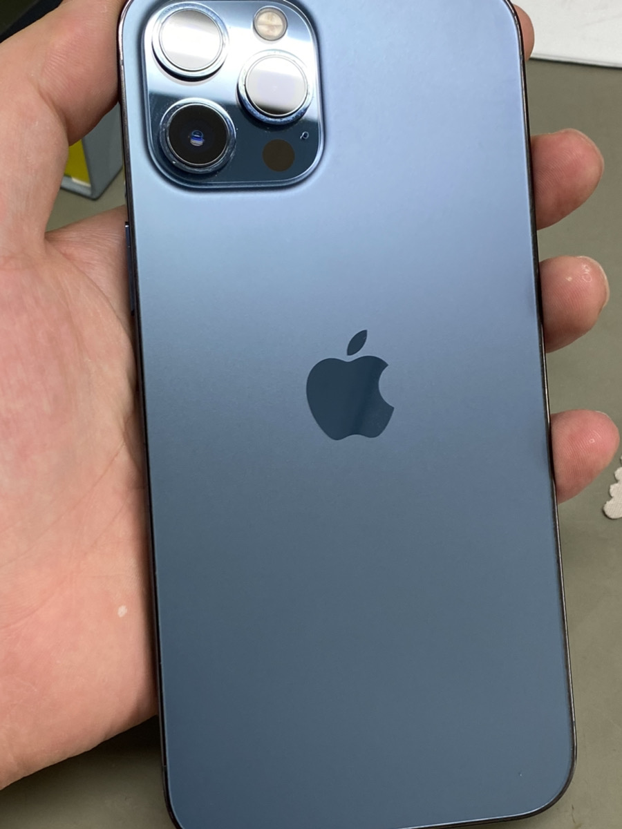 iPhone12ProMax 512GB パシフィックブルー Softbank△ 中古