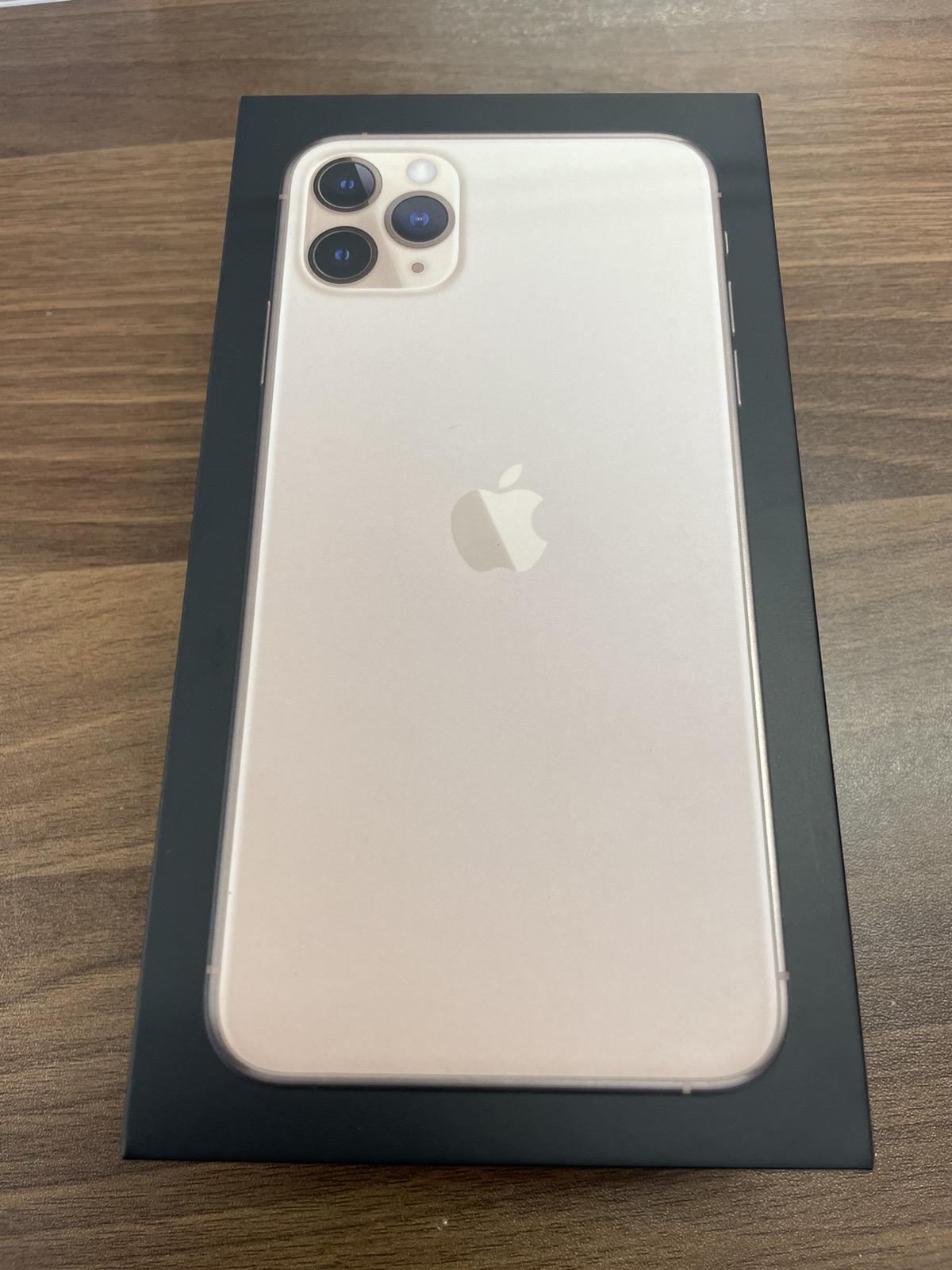 iPhone 11 Pro Max 64GB ゴールド SIMフリー 中古
