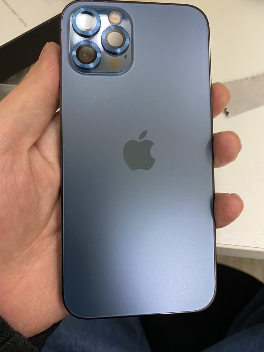 IPhone12Pro パシフィックブルー 256GB  docomo○ 中古品 SIMロック解除品