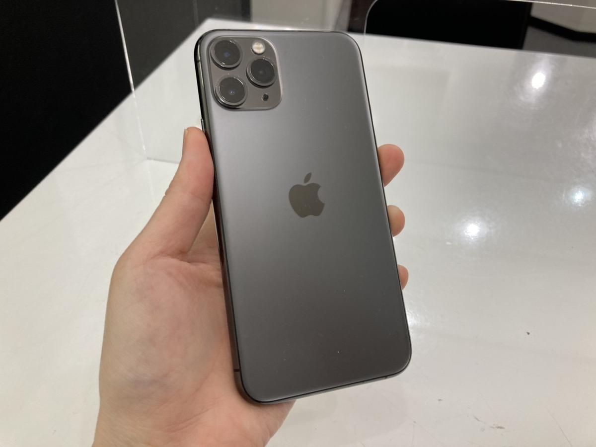 iPhone11Pro 256GB グレー SoftBank△ 中古本体のみ