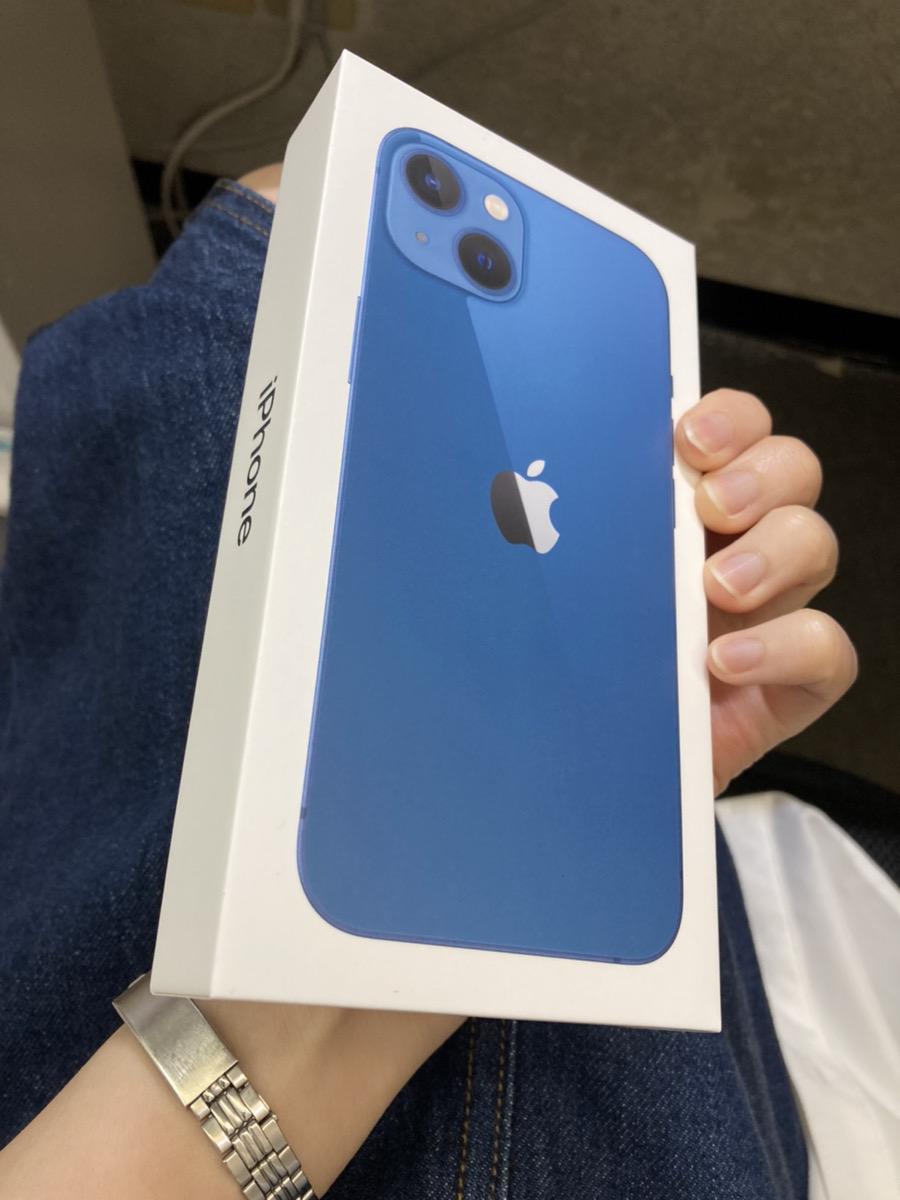 IPhone13 ブルー 256GB  SIMフリー 新品未開封品