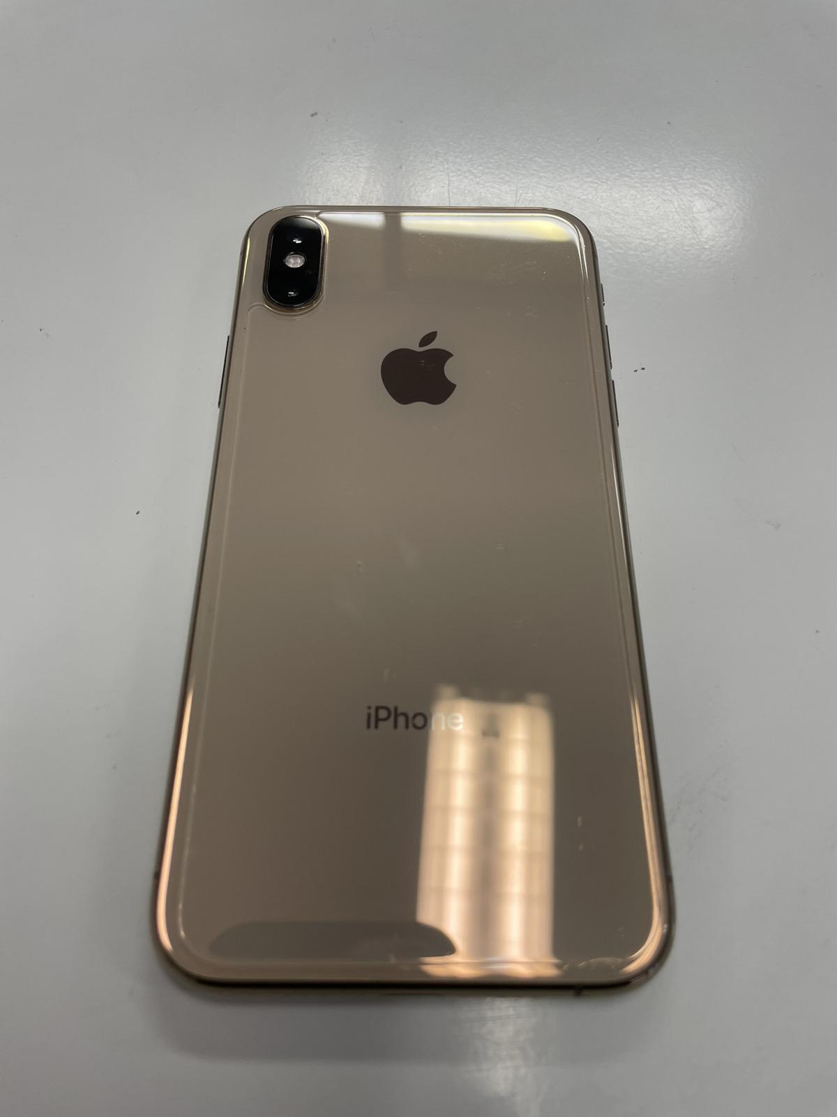 iPhone XS 256GB ゴールド SIMフリー 中古