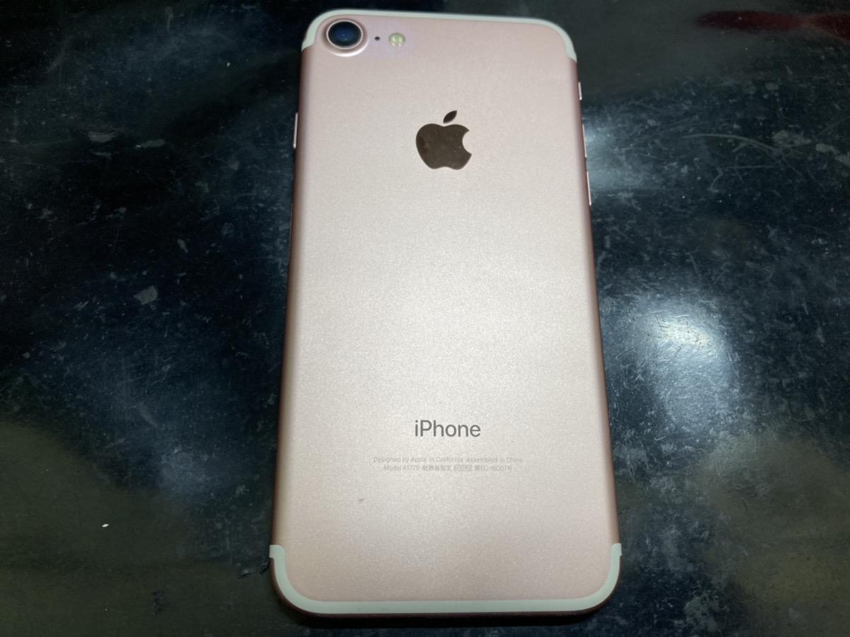 iPhone7 32GB ローズ simフリー 中古本体のみ