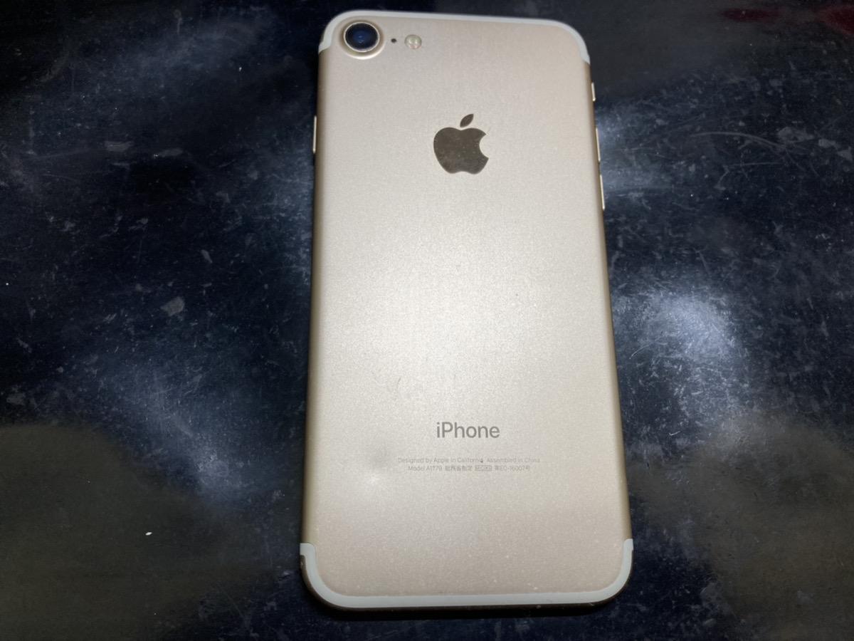 iPhone7 32GB ゴールド simフリー 交換品中古本体のみ