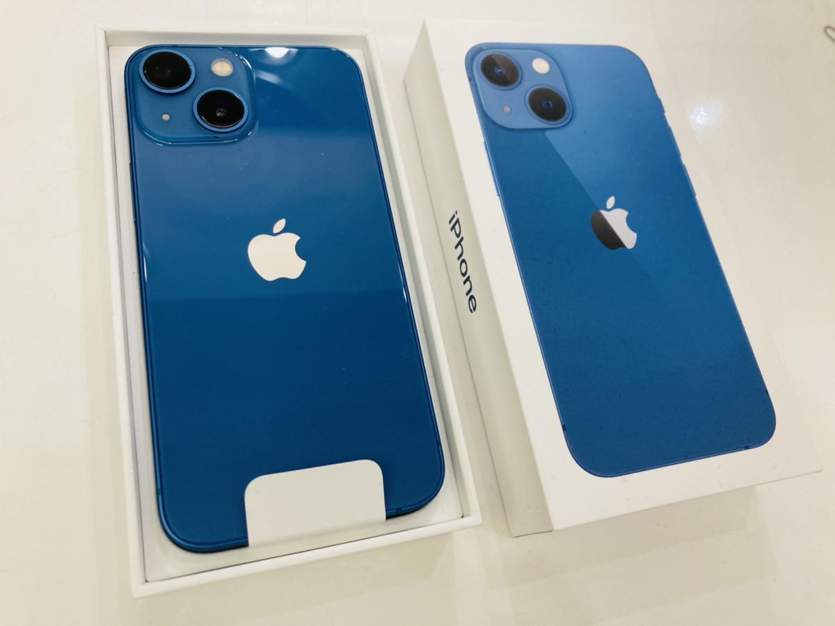 iPhone13mini 512GB docomo△ ブルー 開封済み新品未使用品