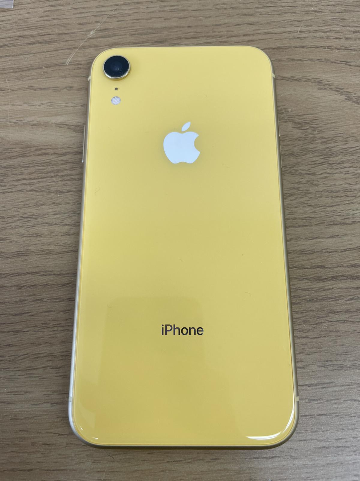 iPhone XR 64GB イエロー SIMフリー 中古