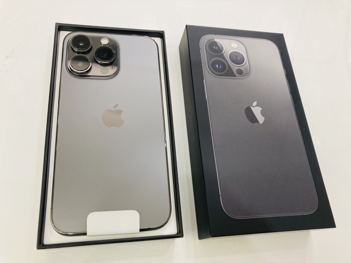 iPhone13Pro 256GB au◯ グラファイト 新品開封済み