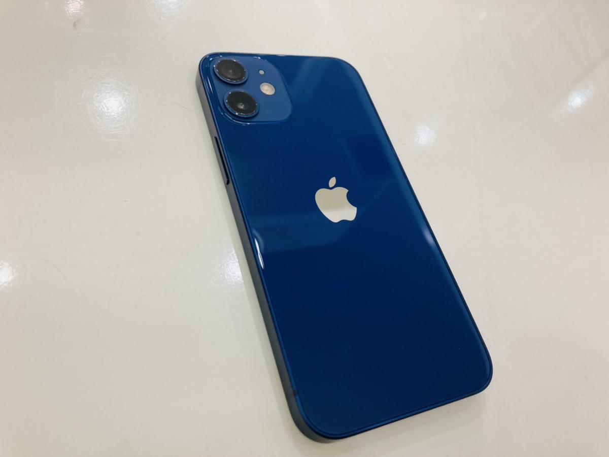 iPhone12mini 256GB simフリー ブルー 中古本体のみ