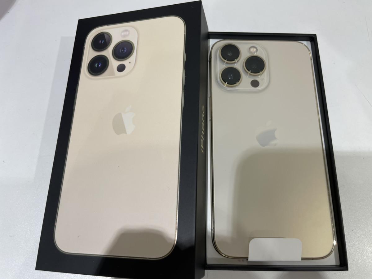 iPhone13pro256GBゴールド Softbank△